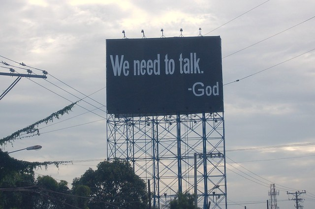 What God wants to say to us