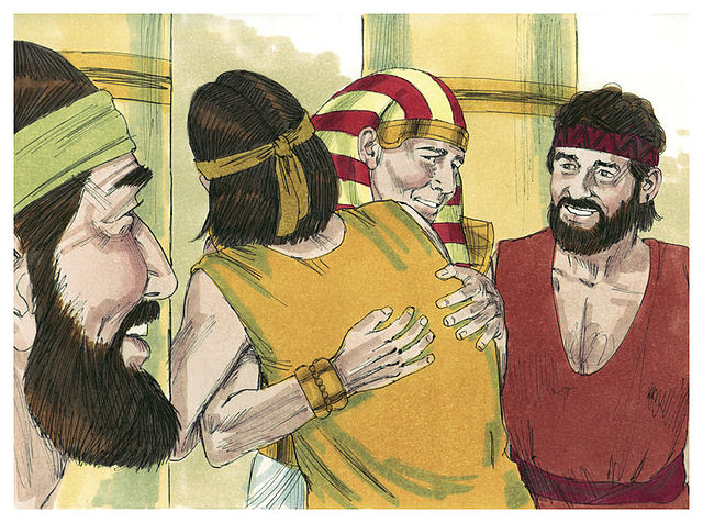 Forgiveness in the BIble, Forgiving ones brothers