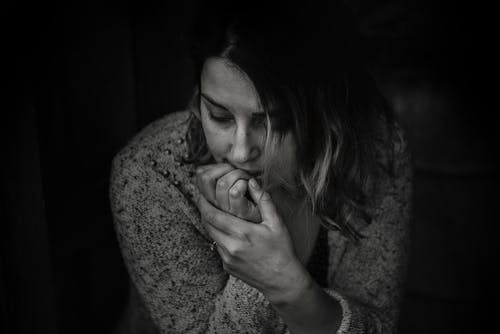 prayers for anxiety - woman worrying