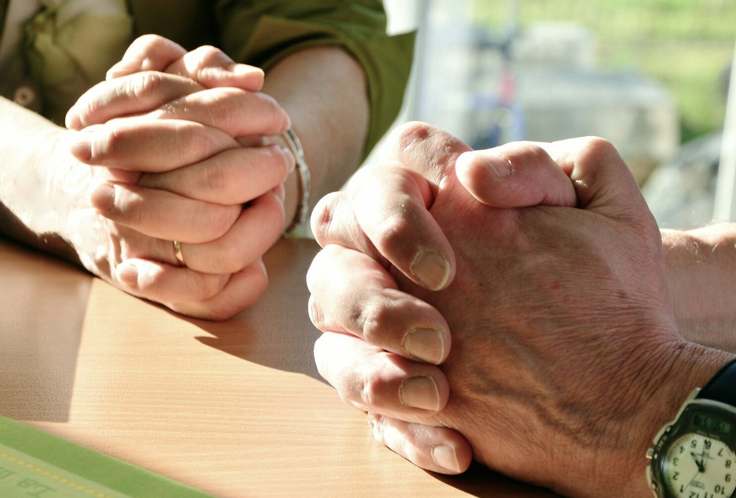 Hands, Prayer for Peace