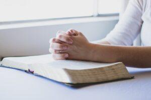 Bible, Woman Praying