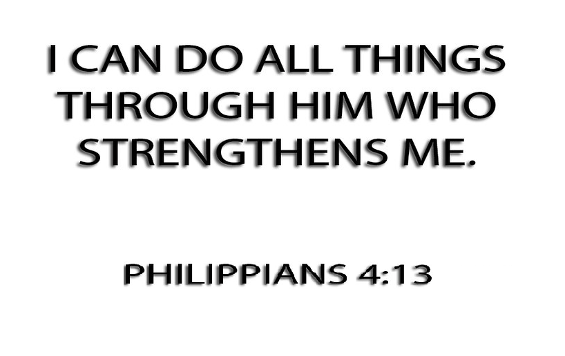 Philippians 4:13, Bible verses about strength