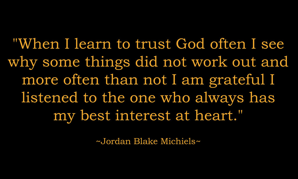Quotes about trusting God, Prayers of comfort