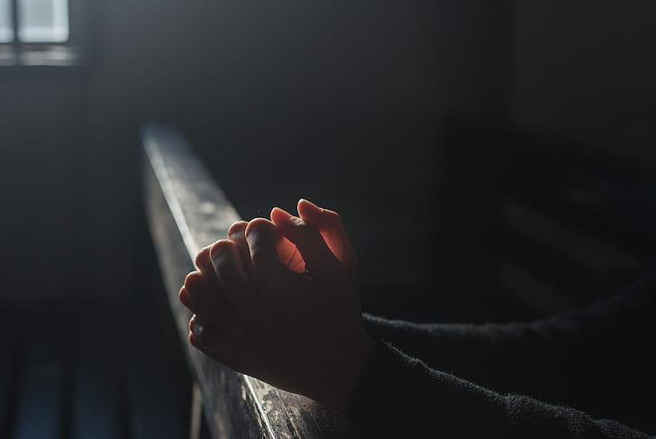 prayers for strength - hands praying