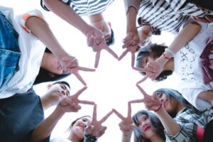 bible verses about friendship- circle of friends
