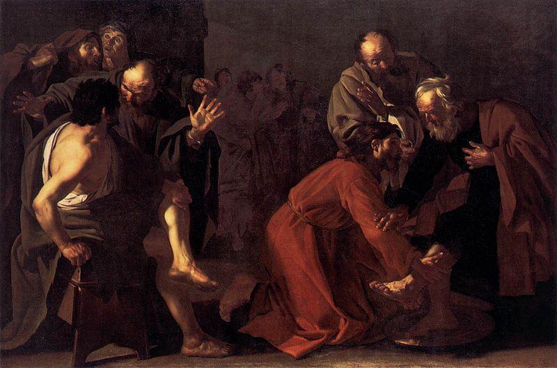 Jesus, Washing of Feet, Apostles