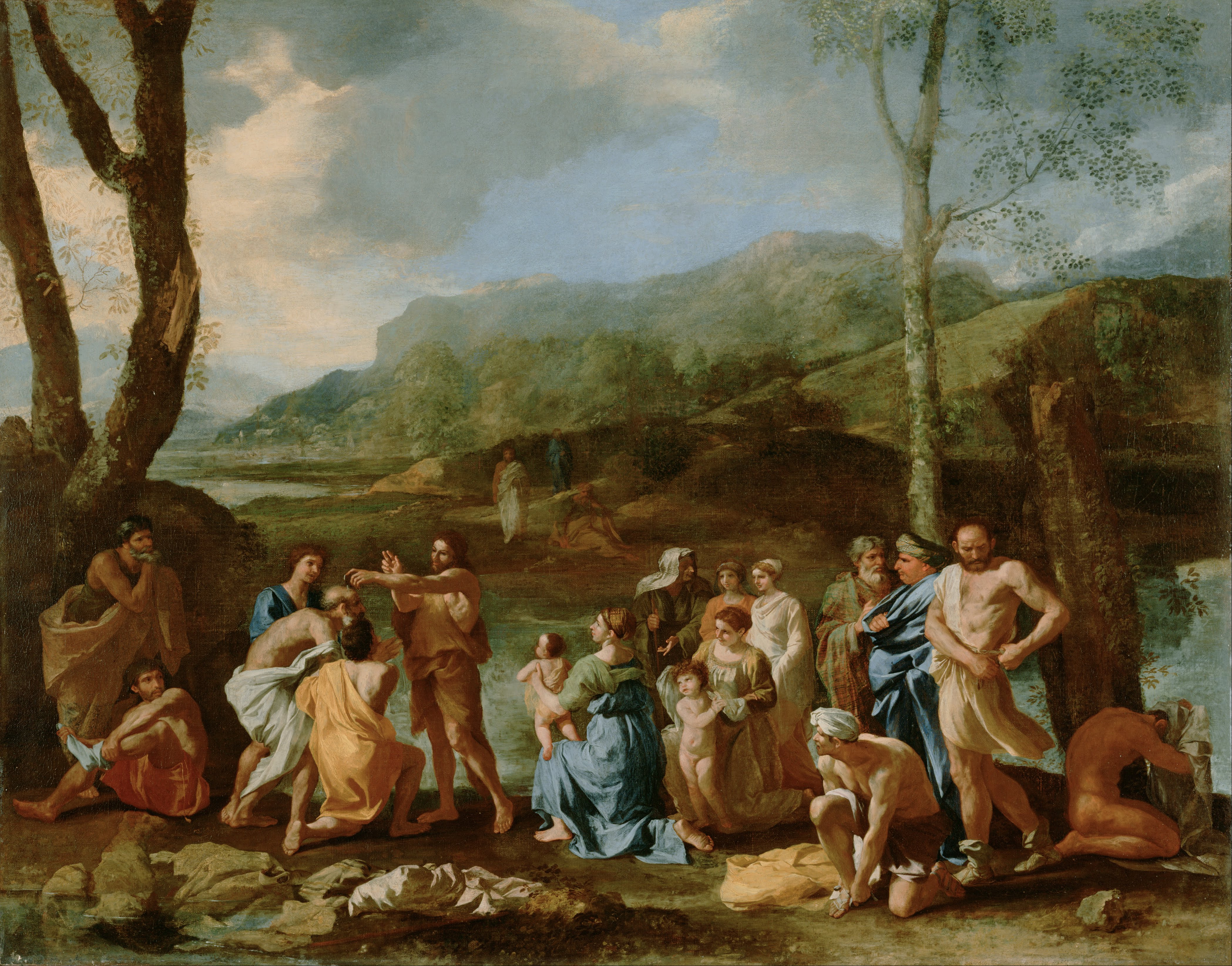 John the baptist, Bible verses about baptism