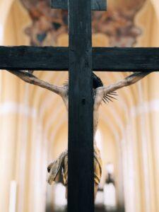 figure of Jesus crucified on the cross