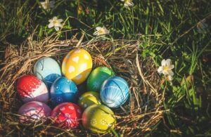 Easter colors- easter eggs
