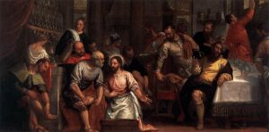 Jesus, Disciples, Washing of the Feet