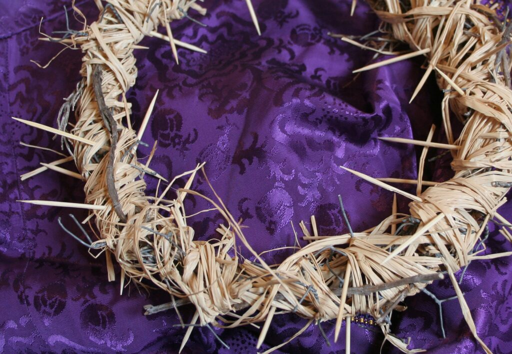 Crown of Thorns, Lenten, Holy Week, Good Friday