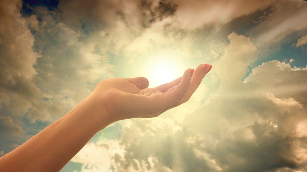 Heaven, Faith, Hand, Control