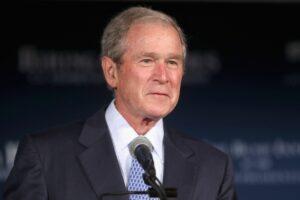 famous Christians George Bush