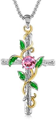 Cross Necklace, Cross, Cross Pendant, Religious Jewelry