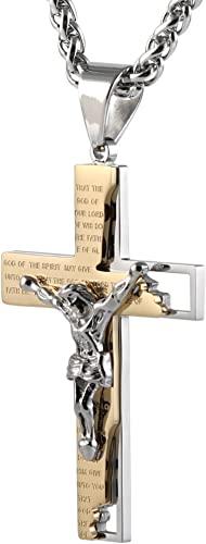 Crucifix Necklace, Jewelry, Bible, Crucifix