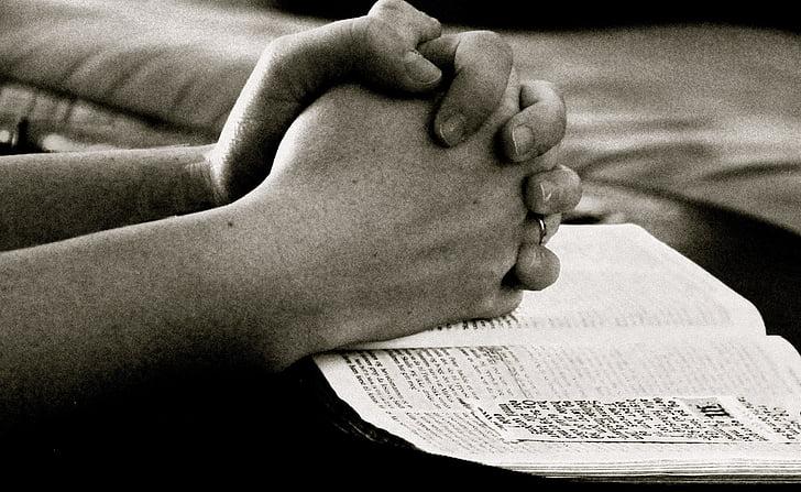 Praying, Bible