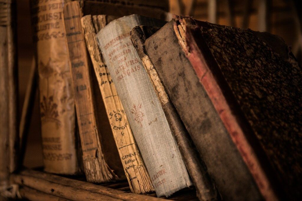 Old Books, Facts, History