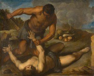 seven deadly sins - Cain murdering Abel