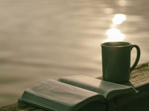 Bible, Coffee, Short Bible Verses