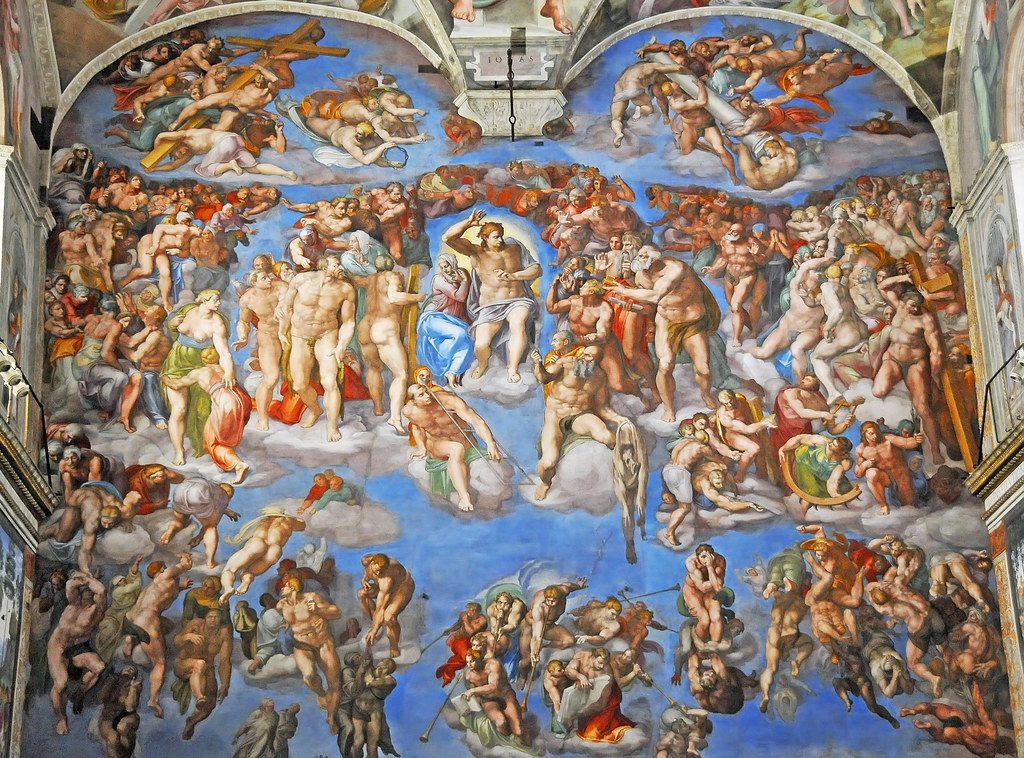 The Sistine Chapel FrescoesThe Sistine Chapel Frescoes, Christian Art