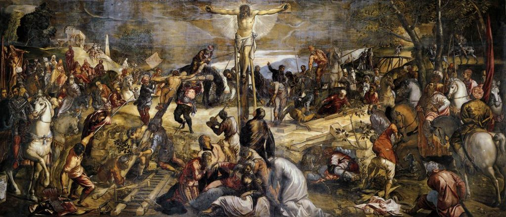 The Crucifixion, Tintoretto