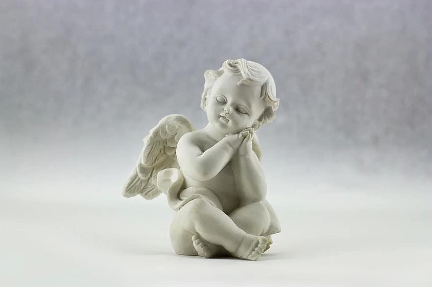 Putto, chubby angel, cute cherub