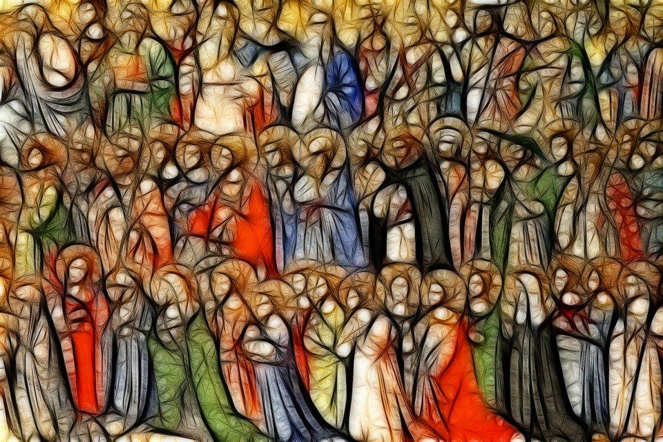 Cries of the saints, saints in heaven