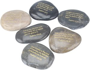 Inspirational Psalm Stones