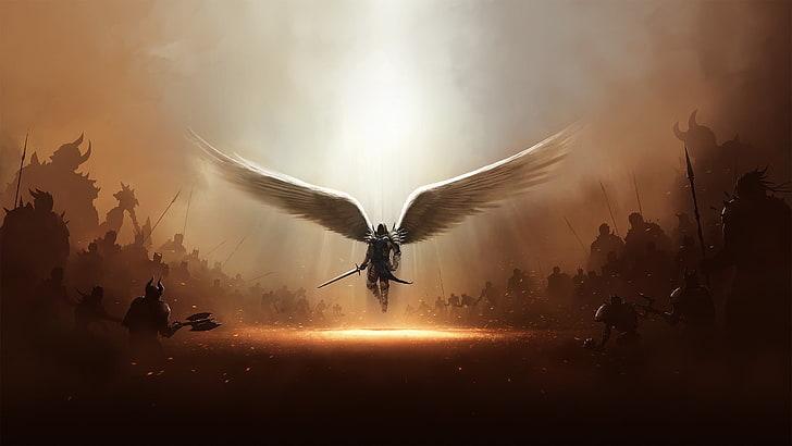 Michael, archangel, types of angels