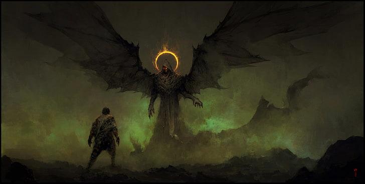 Demons, types of angels, dark angels, abaddon