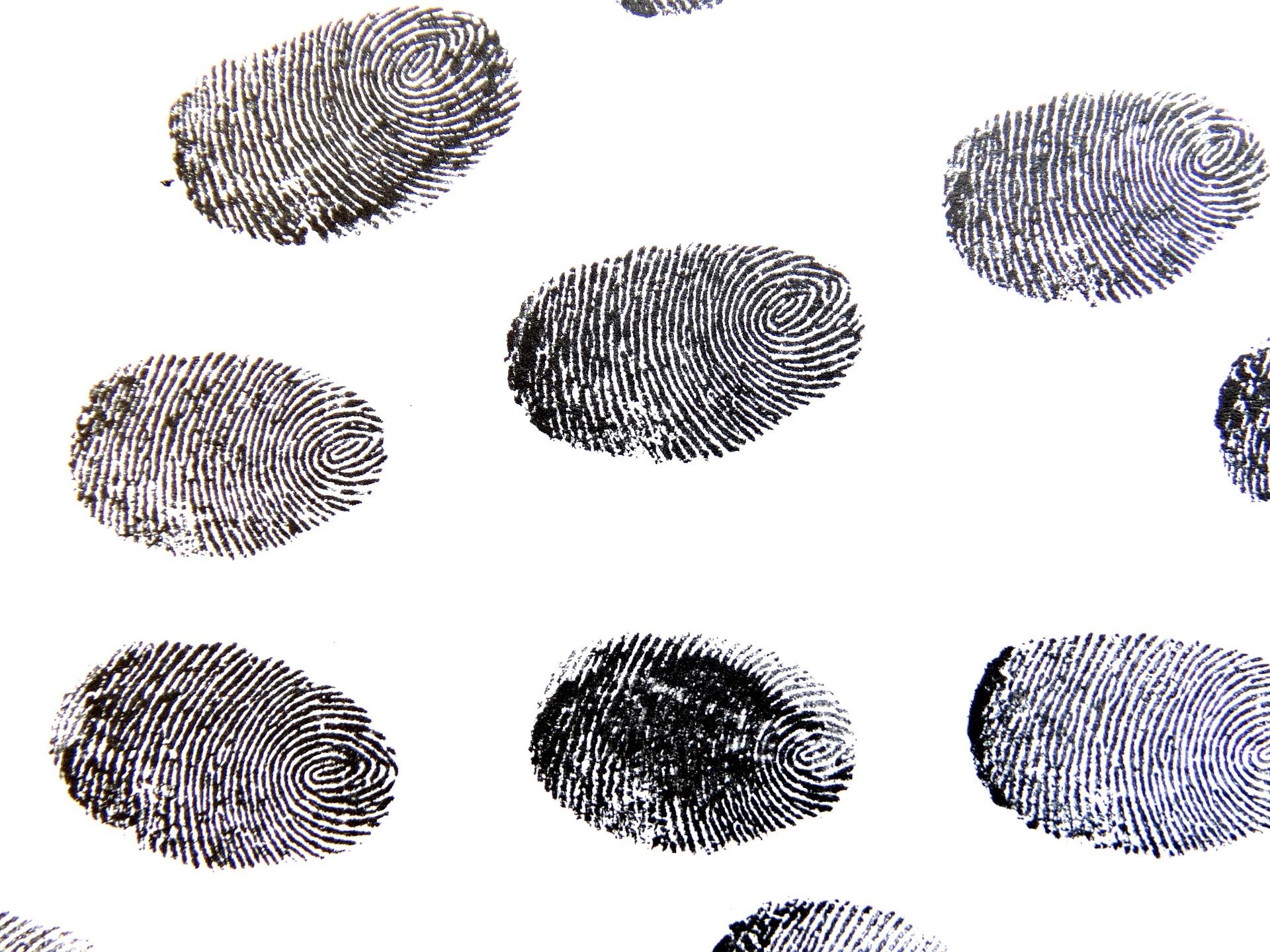 fingerprint in the Bible