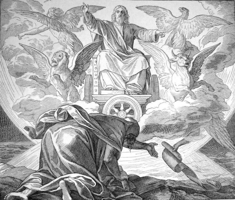Book of Revelation, angels in the Bible