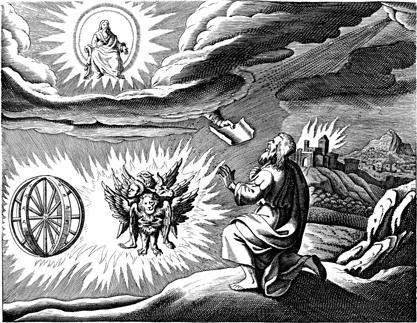 types of angels. wheels , angels, prophet ezekiel