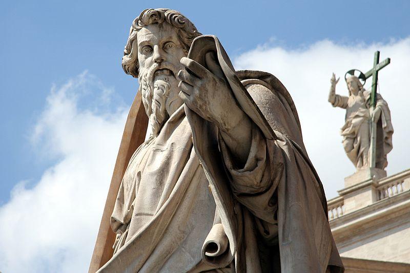 St. Paul, Statue