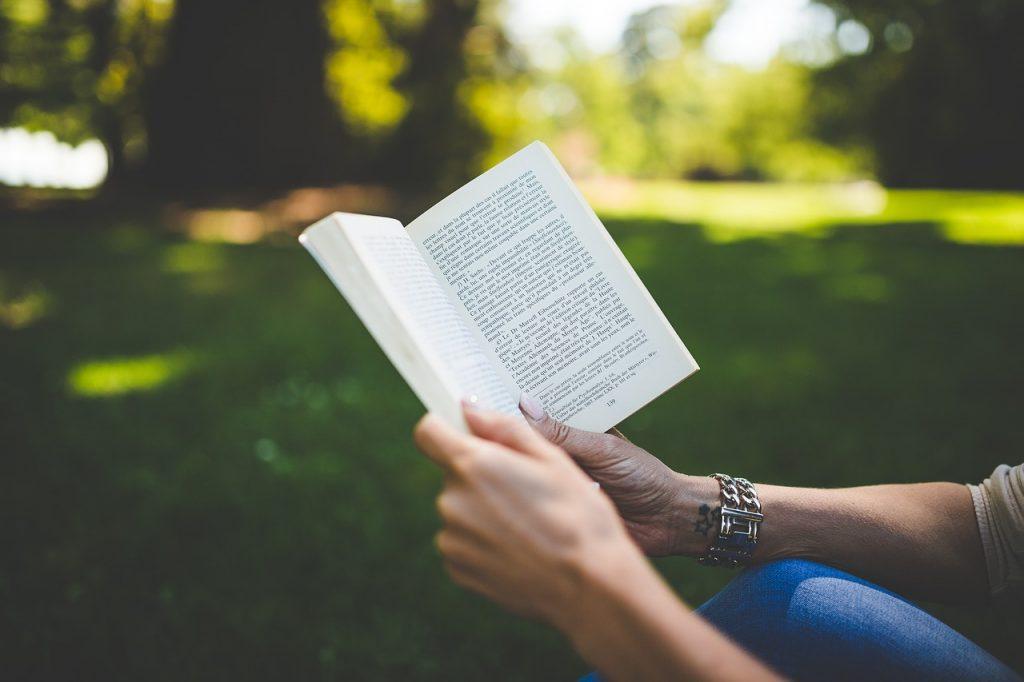 Books, Person, Reading