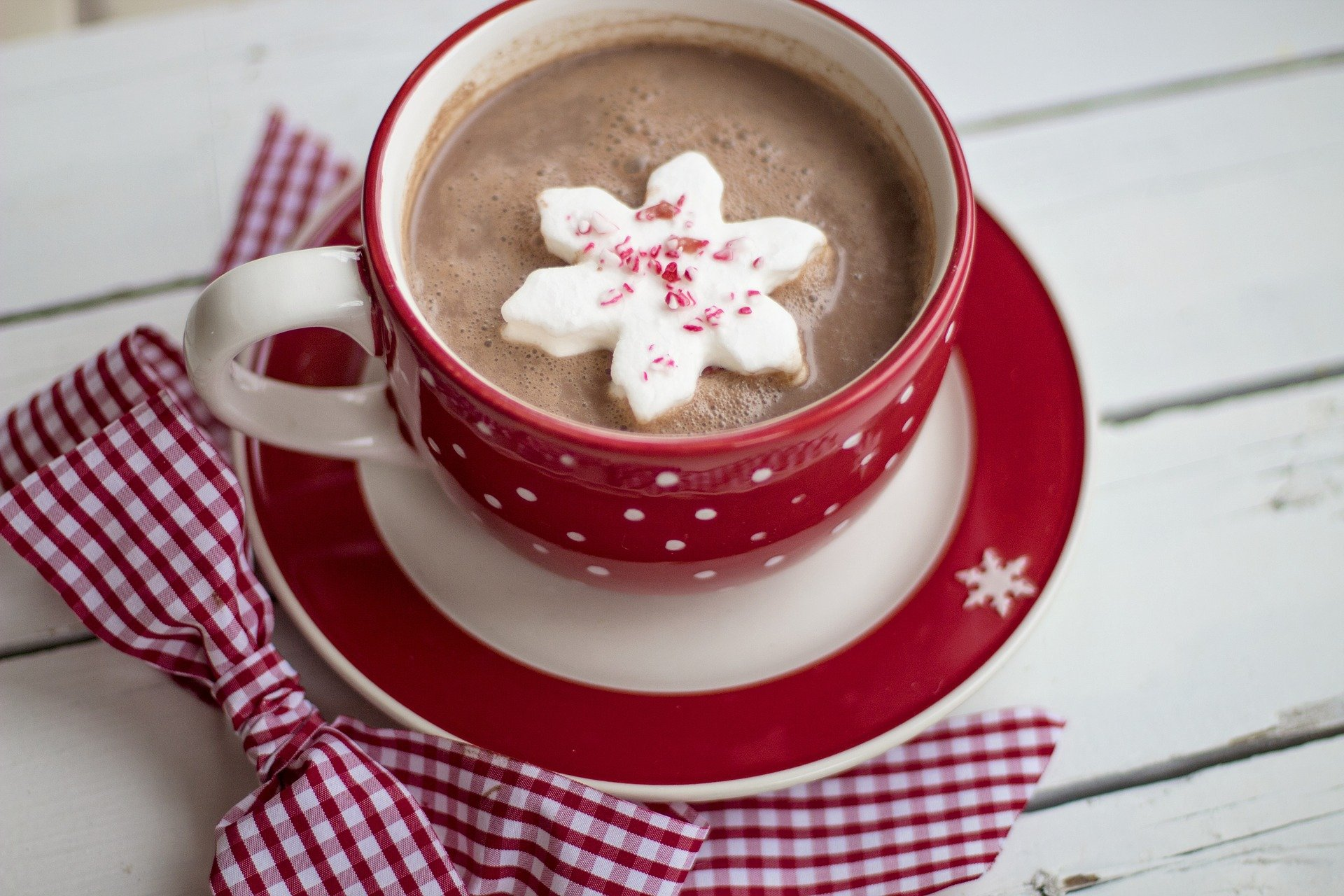 Hot chhocolate drink, Christmas