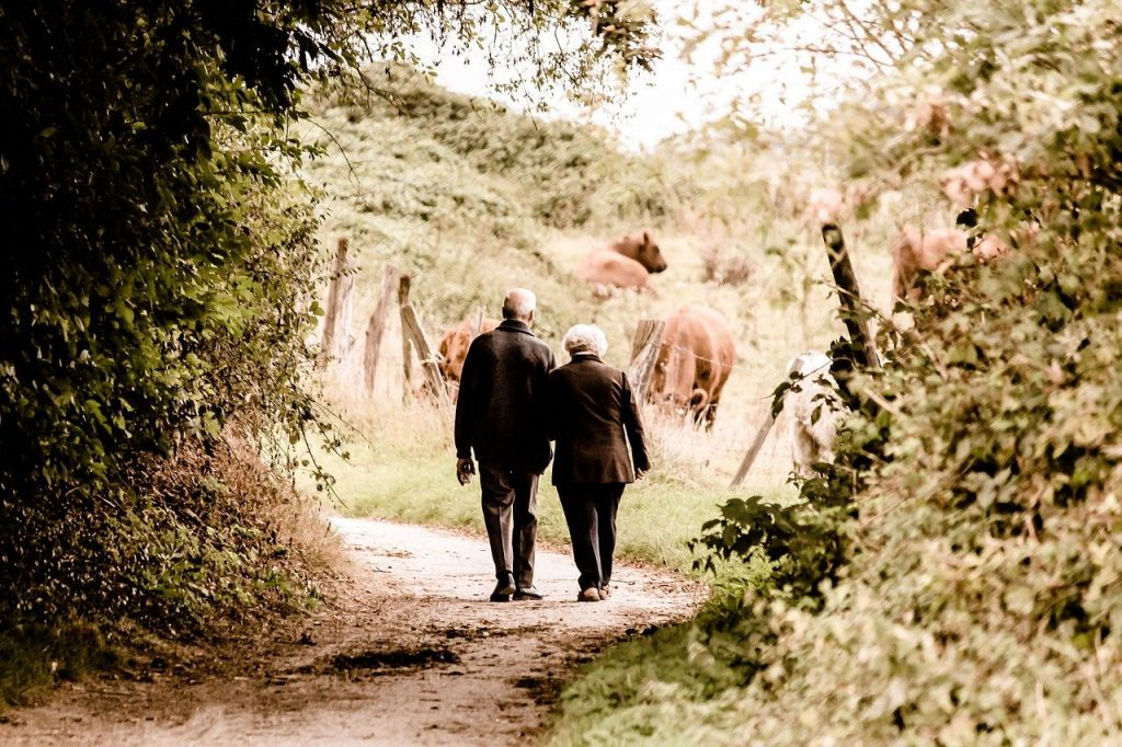 Old Couple, Together, Forever, Marriage