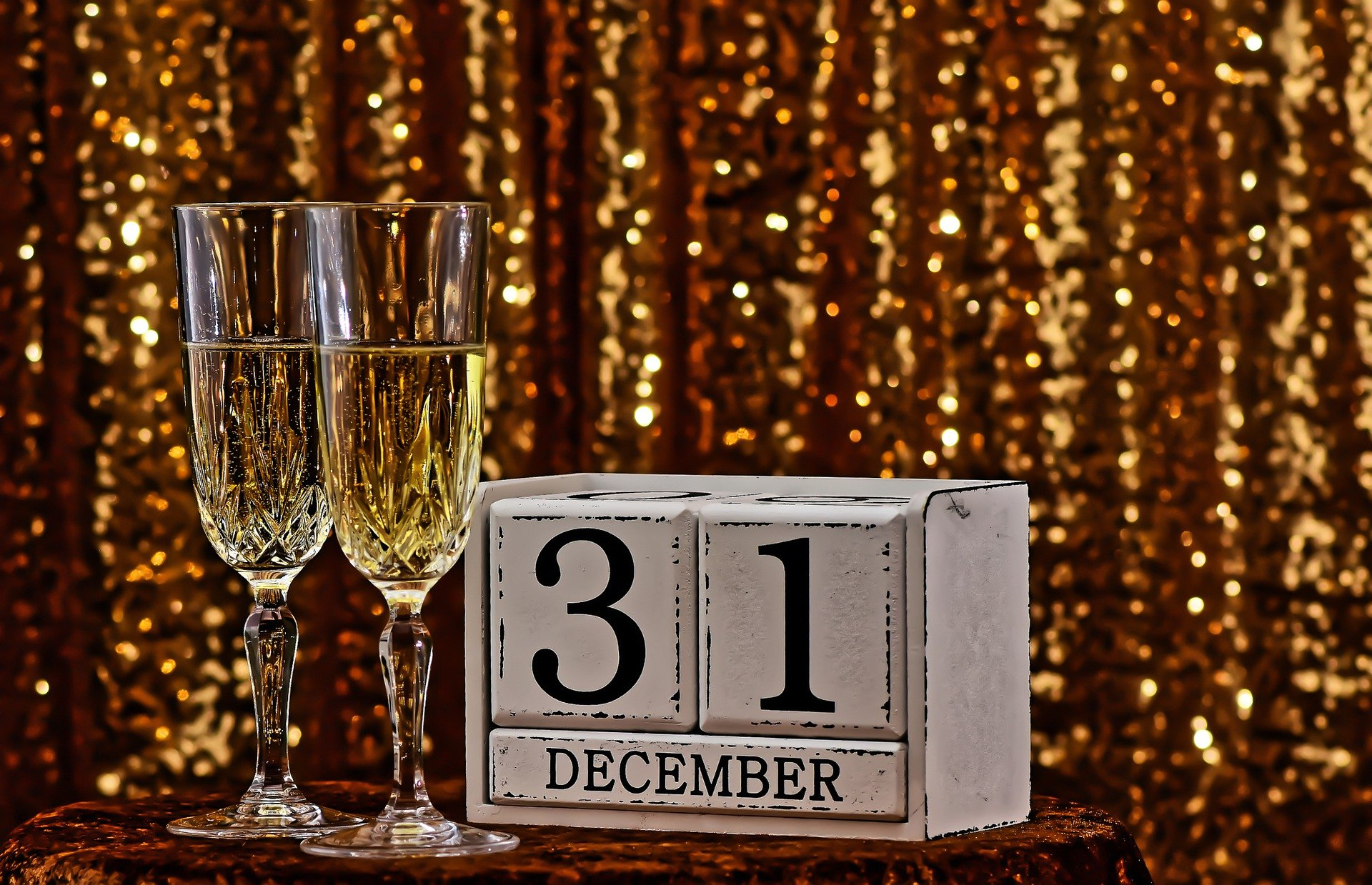 december 31, new year countdown