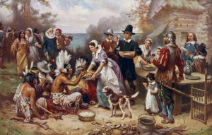 Thanksgiving Background And It's True History