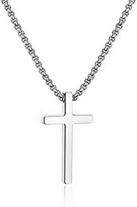 Men Necklace, Christian Gifts