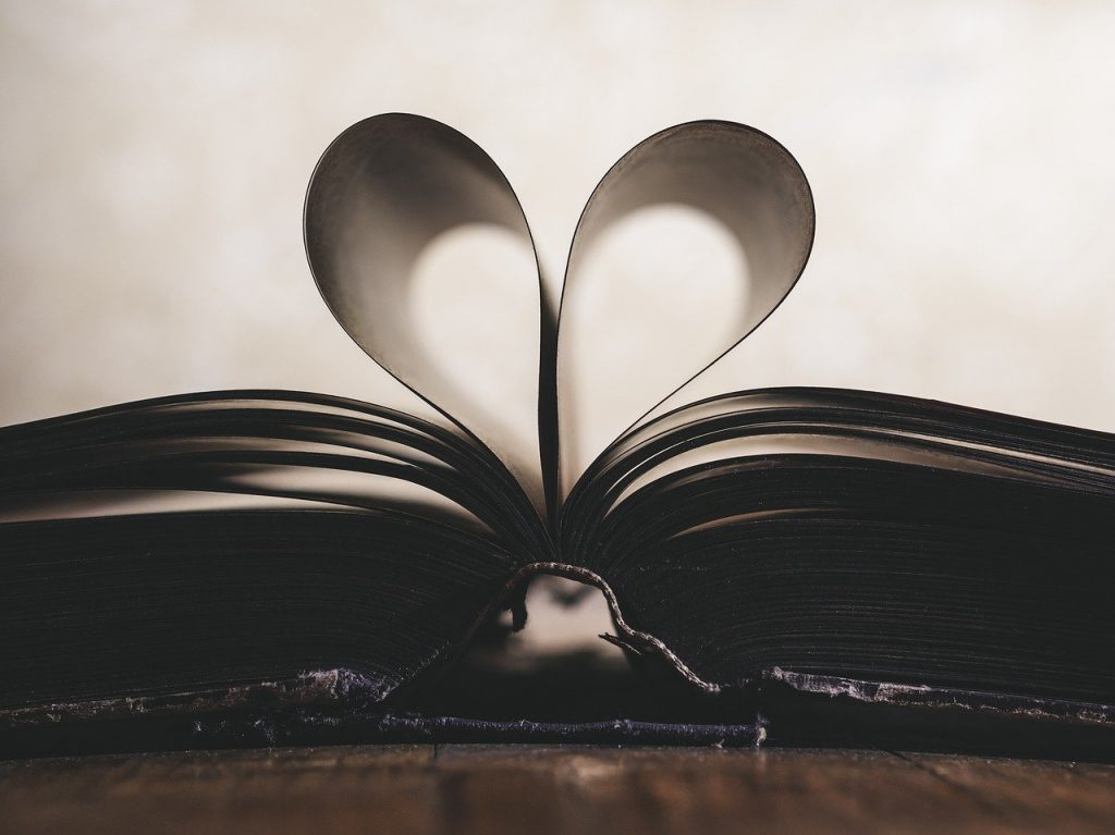 Love, Books, Heart
